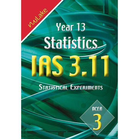 Nulake Year 13 Mathematics Ias 3.11 Statistics