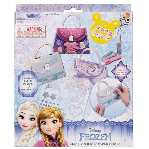 Frozen Make Your Own Purse