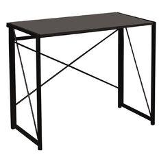 Workspace Folding Desk Charcoal