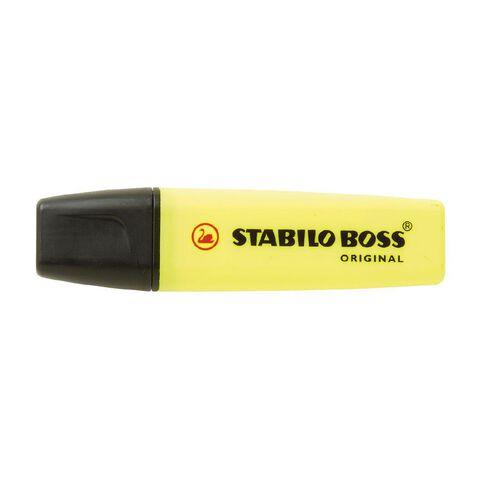 Stabilo Boss Highlighter Yellow