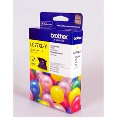 Brother Ink LC77XL Yellow (1200 Pages)