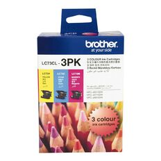 Brother Ink LC73 Colour 3 Pack (600 pages)
