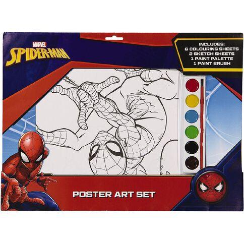 Spider-Man Poster Art Set A3
