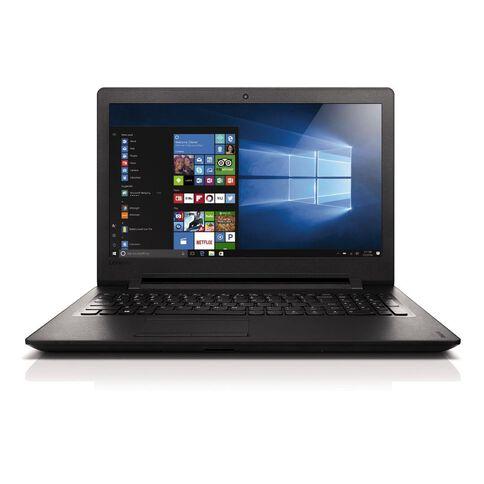 Lenovo 110 15.6 inch Celeron Laptop Black