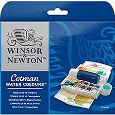 Winsor & Newton Watercolour Field Plus Set