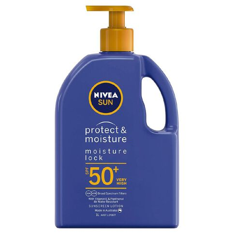 Nivea Sunscreen Moisturising Lotion SPF50+ 1L