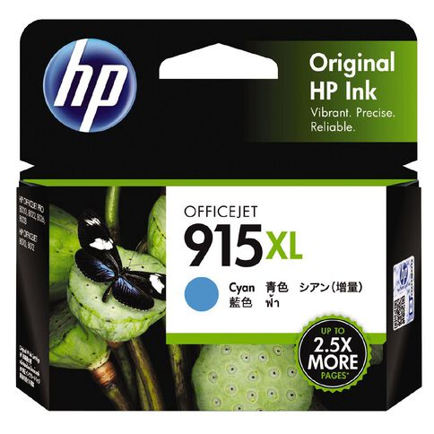 HP Ink 915XL Cyan (825 Pages)