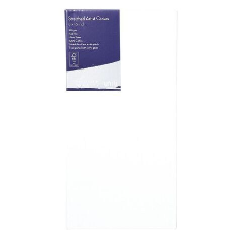 Uniti Platinum Canvas 8x16 Inches 380Gsm