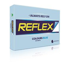 Reflex Paper 80gsm Tints 500 Pack Blue A3