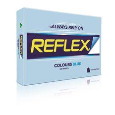 Reflex Paper 80gsm Tints 500 Pack Blue A3