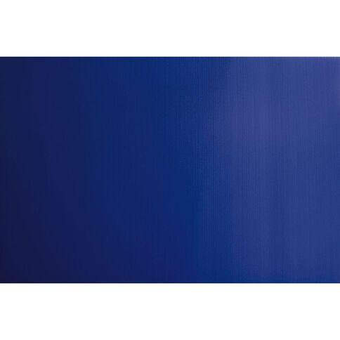 Plasti-Flute Sheet 600mm x 900mm Blue