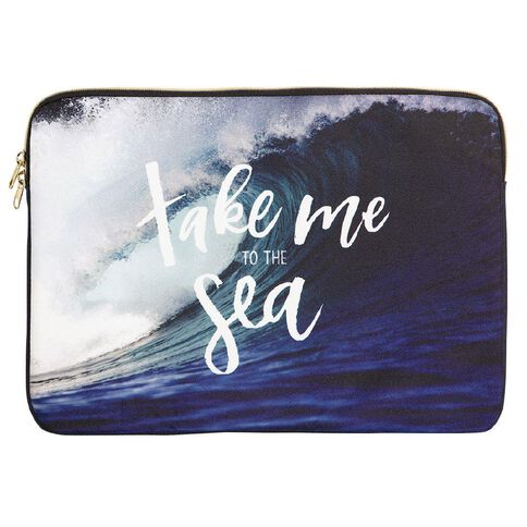 14 inch Notebook Sleeve Surfs Up Sea