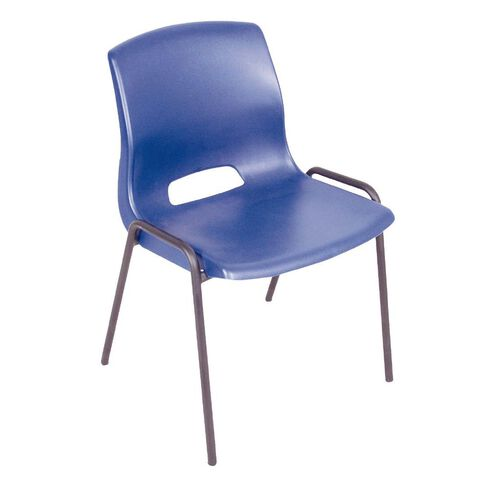 Workspace Cafe Stacker Chair Blue Blue