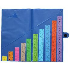 TFC Animal Strips Storage Wallet Blue