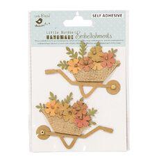 Little Birdie Shades of Brown Gift Bags 4 Piece Kraft Expresstion