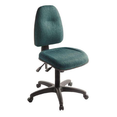 Eden Spectrum Deluxe 3 Lever Highback Ergonomic Chair Atlantic
