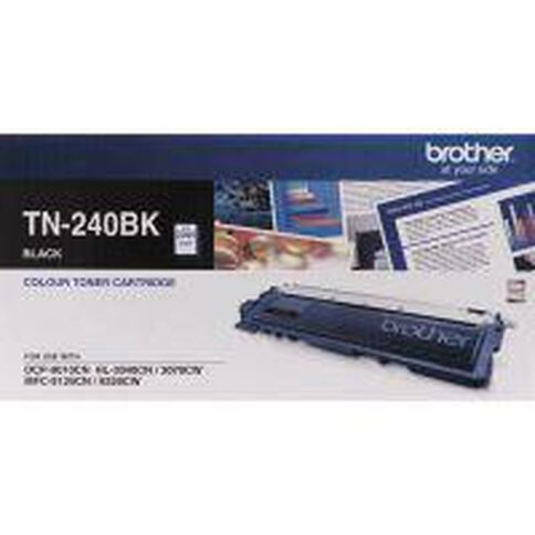 Brother Toner TN240 Black (2200 Pages)