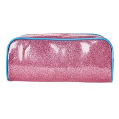 Impact Pencil Case Tube Glitter Pink