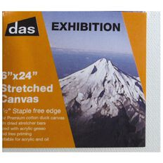DAS 1.5 Exhibition Canvas 06 x 24in White