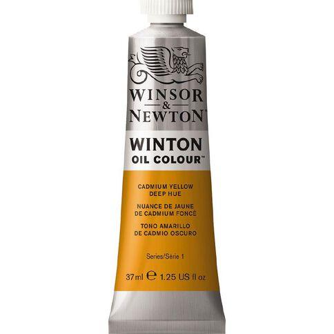 Winsor & Newton Winton Oil Paint 37ml Cadmium Yellow Deep