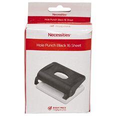 Impact Hole Punch 16 Sheet Black