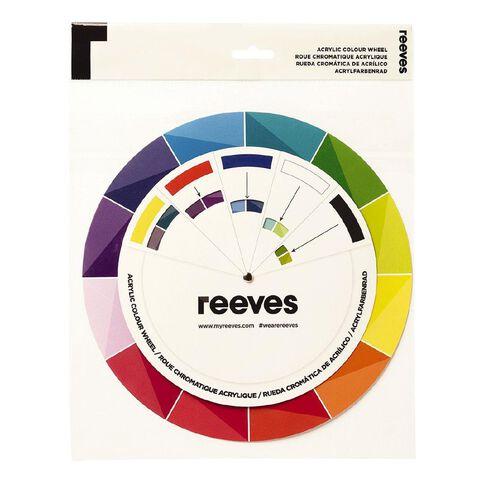 Reeves Acrylic Colour Wheel