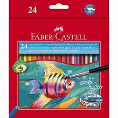 Faber-Castell Watercolour Pencils 24 Pack