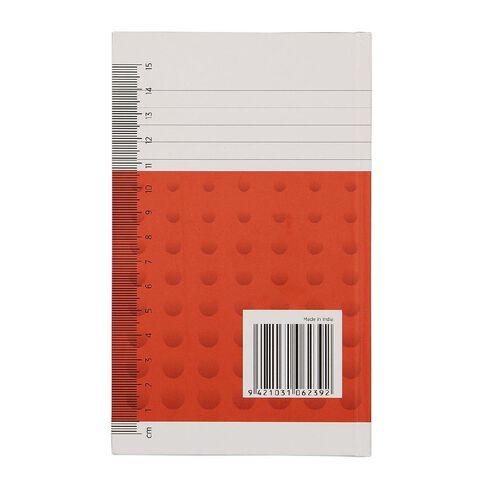 WS Notebook 6B1 Index 7mm Ruled 64 Leaf