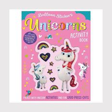 Unicorns Balloon Sticker Activity Book