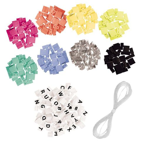 Fashion Angels Alphabet Tiles Message Bracelet Kit