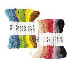 Uniti Embroidery Thread Set 24 Piece