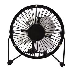 Living & Co USB Desk Fan Black