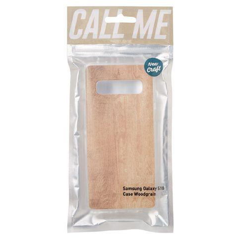 New Craft Samsung Galaxy S10 Wood Grain Case