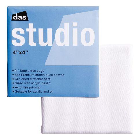 DAS Studio Canvas 4 x 4 White