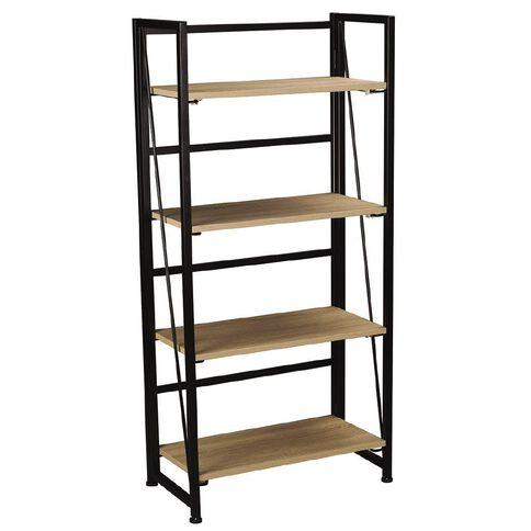 Workspace Folding Bookcase Oak