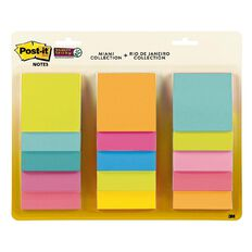 Post-It 654-15SSMULT12 Bright Notes 76X76mm