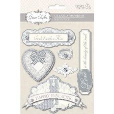 Grace Taylor Wedding Grand Adhesion with Rhinestones