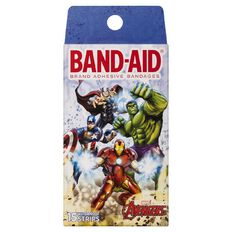 Avengers Band Aid Character Strips