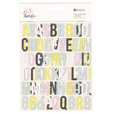 Rosie's Studio Arabesque Alphabet 2 Sheets