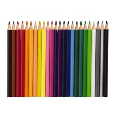 Kookie Coloured Pencils Jumbo Multi-Coloured 24 Pack