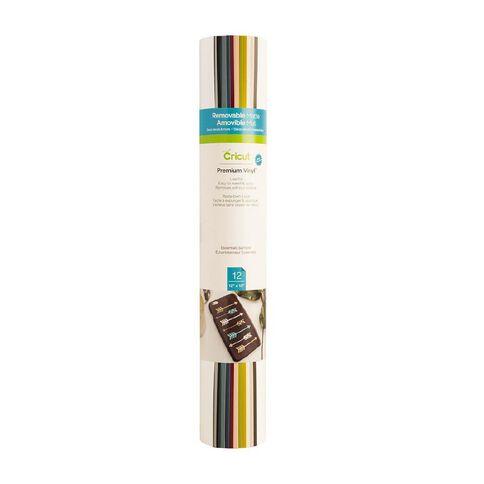 Cricut Vinyl Premium Removable Multi-Coloured 12in x 12in