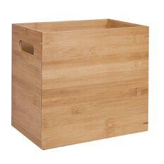 Living & Co Bamboo Storage Box Natural