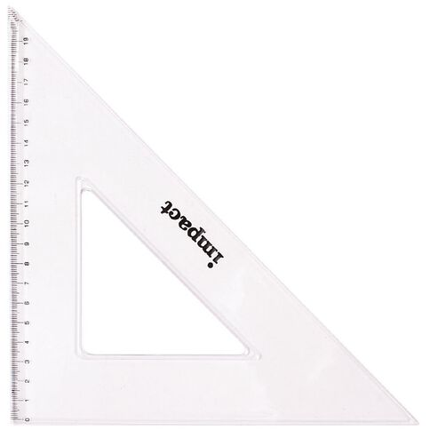Celco Set Square 45 Degree 32cm Brown