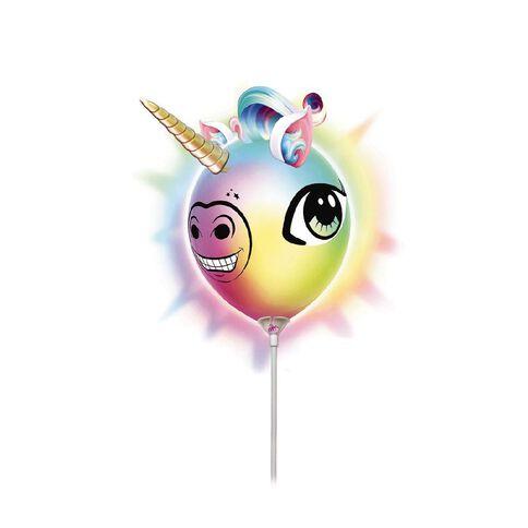 Illooms Make Your Own Unicorn Head Light Up Balloon