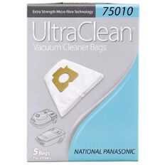Ultra Clean Vacuum Bags For Panasonic 5 Pack