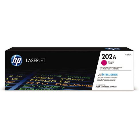 HP 202A LaserJet Toner Magenta (1300 Pages)