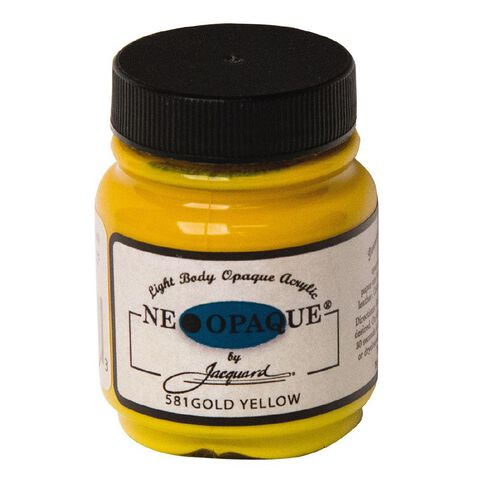 Jacquard Neopaque 66.54ml Gold Yellow