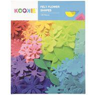 U-Do Flower Felt shapes Colour Box 100 Piece