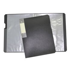 Office Supply Co Eco Display Book 20 Leaf Black A4