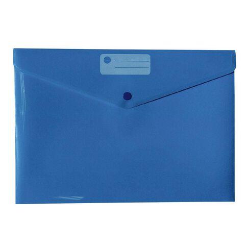 Impact Document Envelope Single Dome Blue